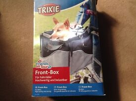 Dog front box carrier for up to 7kg in weight-brand new not used