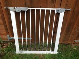 Two used stairgates for sale.