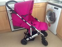 Mamas and papas pushchair and carry cot