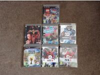 Various Playstaion 3 Games