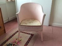Vintage Lloyd Loom Chair and Commode