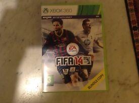 Xbox 360 Fifa 14 game
