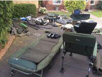 Quality carp set up setup Greys Nash big daddy Korda solar sonik Delkim gardner