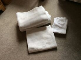 John Lewis Baby Cotbed Cellular Blankets x2 never used