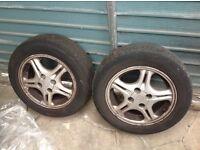 Honda Civic Alloy Wheels x 2