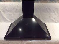 Baumatic cooker hood 90cm in black