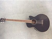 Ibanez Acoustic Bass AEB8E-BK1202 and soft cover