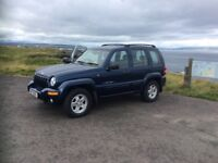 Blue Jeep Cherokee for sale