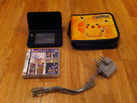 Nintendo 3ds XL Console with Charger, Pokemon Case and 270 Games