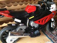 Child's electric motorbike