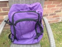 Purple trek buddy ruck sack