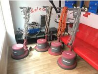 Quality heavy duty floor polishers/cleaners. Minuteman machines are Rolls Royce of floor polishers.