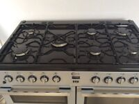 Used 7 ring Dual fuel Flavel cooker,100cm width, good condition,buyer to pick up