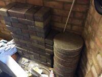 Unused block paving