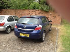 2004 Vauxhall Astra 1.6 for sale