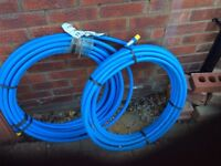 20 mm water mains pipe x2