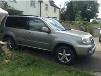 Nissan X Trail 2.0 Petrol Tow Bar, Air Con, Full Beige Leather