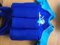 Zoggs float suit age 1-2