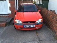 Ford Fiesta failed MOT suitable for spares or repair