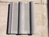 NEW Grey Double Roman Roof Tiles 130 £1 EACH