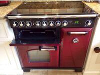 Rangemaster Classic Deluxe 90 Induction cooker