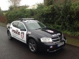 Dodge avenger USA 2008 police car
