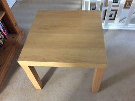 Ikea light oak effect coffee table
