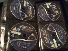 64 Star Trek dvd's!