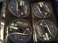 64 Star Trek dvd's!