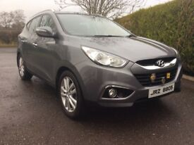 Hyundai ix35 4x4 2.0 diesel excellent low mileage jeep cookstown