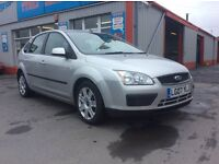 """2007, Ford Focus 1.8 TDCI Diesel, only 108,000, Click our """"see all ads"""" for all our other cars."""