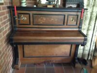 Well loved Edwardian Piano