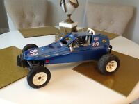 Vintage rc car mardave apache not tamiya
