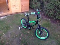 Children's 16inch bike, very good condition and recently serviced.