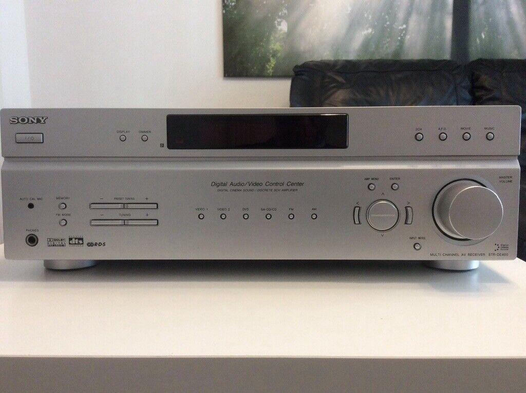 SONY ST-DE 400 Multi Channel AV Receiver | in Kirkcaldy, Fife | Gumtree