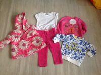 Girls Clothes Bundle 12-18 Months - Next, M&S