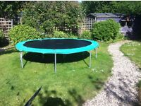 Used 10ft Trampoline, 3 years old.