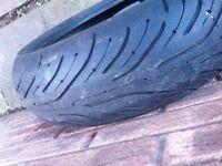 rear tyre 180/50/17 zr 2ct michelin