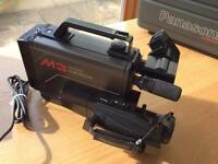 M3 Panasonic VHS Video Camera.