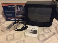 Daewoo colour portable television