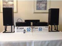 Tannoy speakers/ Sony Tuner/ Pioneer Amp and Pioneeer Cassette Deck