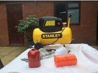 Stanley Air Compressor As new/unused with all attachments