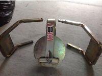 Bulldog QD44 Wheel Clamp