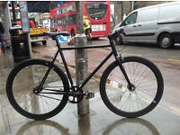 Brand new single speed fixed gear fixie bike/ road bike/ bicycles + 1year warranty & free service f9
