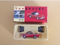 Corgi Vangaurds model cars x 5