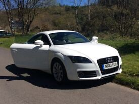 AUDI TT TFSI, 2013, SERVICE HISTORY, 12 MONTHS MOT, first to see will buy