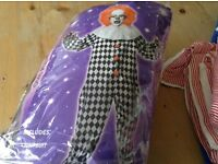 Clown costume not used
