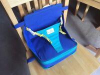 Folding/travel toddler booster seat/highchair