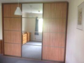 SLIDEROBE- substantial Sliderobes 3 door Fitted Wardrobe 2.5m x 3m x 67cm