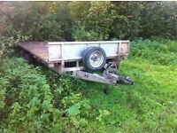 16ft Ifor Williams trailer!